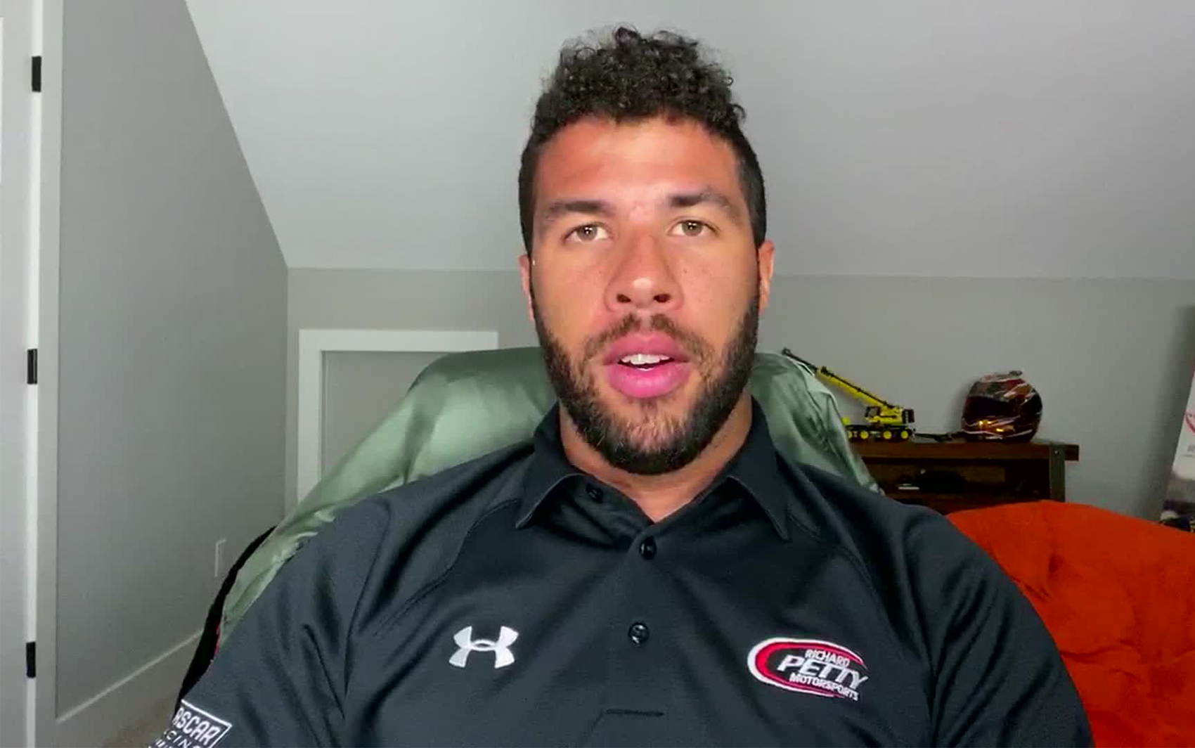 NASCAR's Bubba Wallace responds to FBI report on noose found in his garage. (CNN)