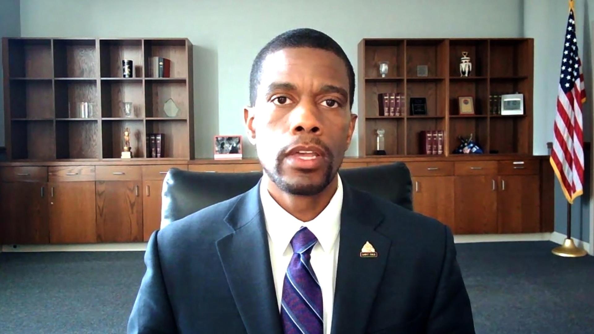 St. Paul Mayor Melvin Carter speaks to CNN in June 2020.