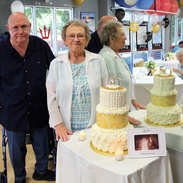 Curtis and Betty Tarpley celebrated their 50th wedding anniversary in 2017. They died together earlier this month in a Texas ICU from COVID-19. (Tim Tarpley via CNN)