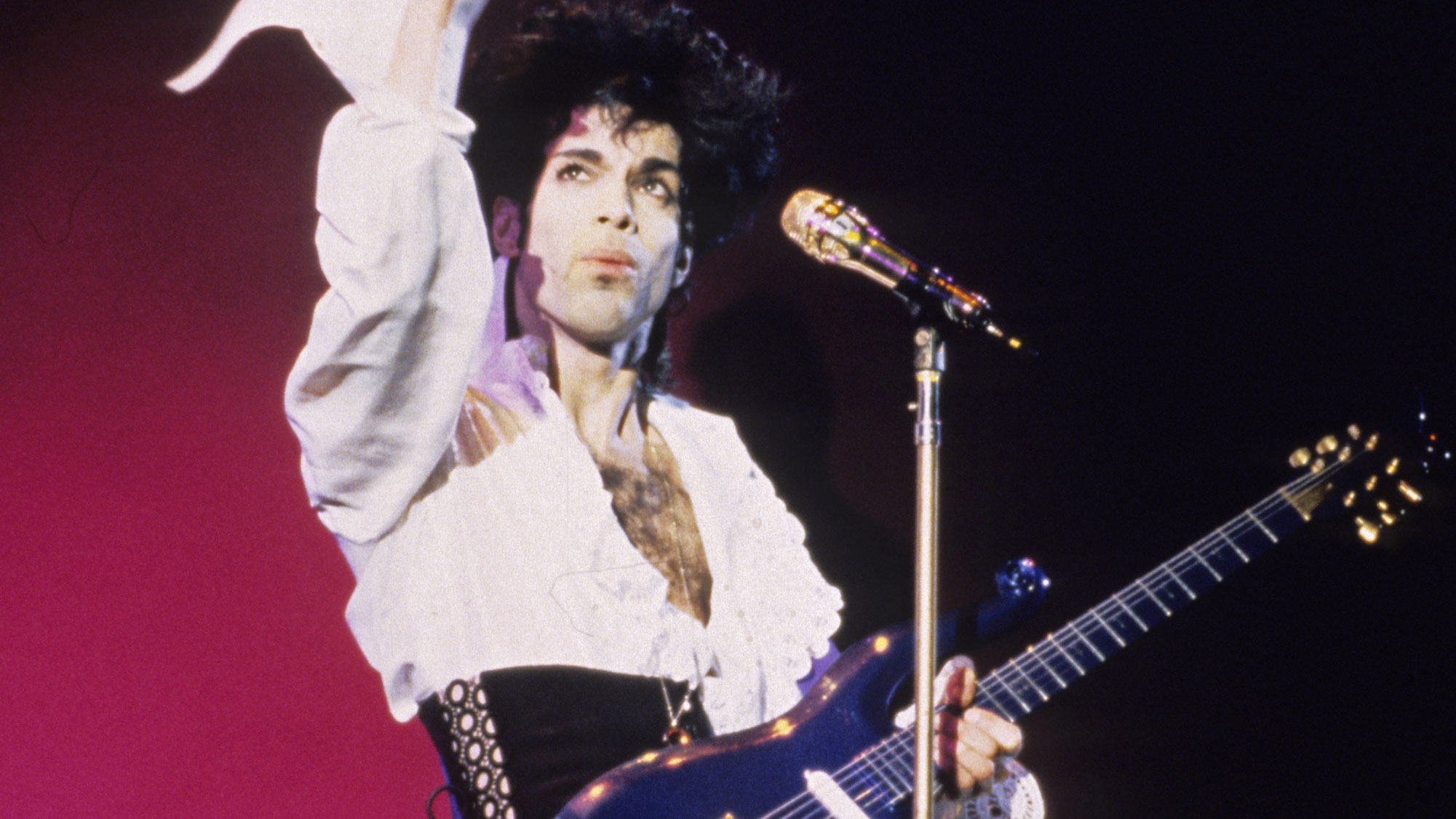 Iconic Prince guitar that was once thought lost is sold for over ...