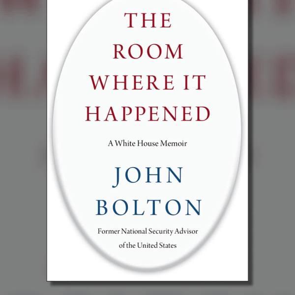 John Bolton's book. (Simon & Schuster via CNN)