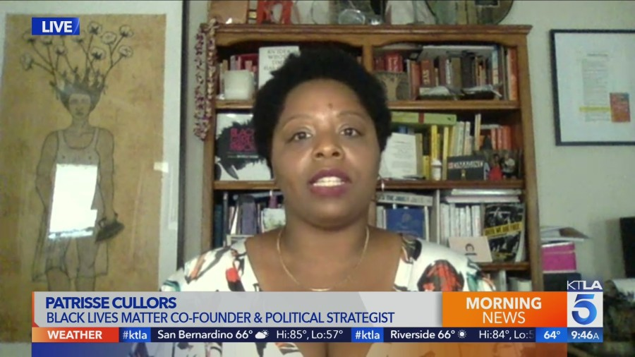 Patrisse Cullors Black Lives Matter May31