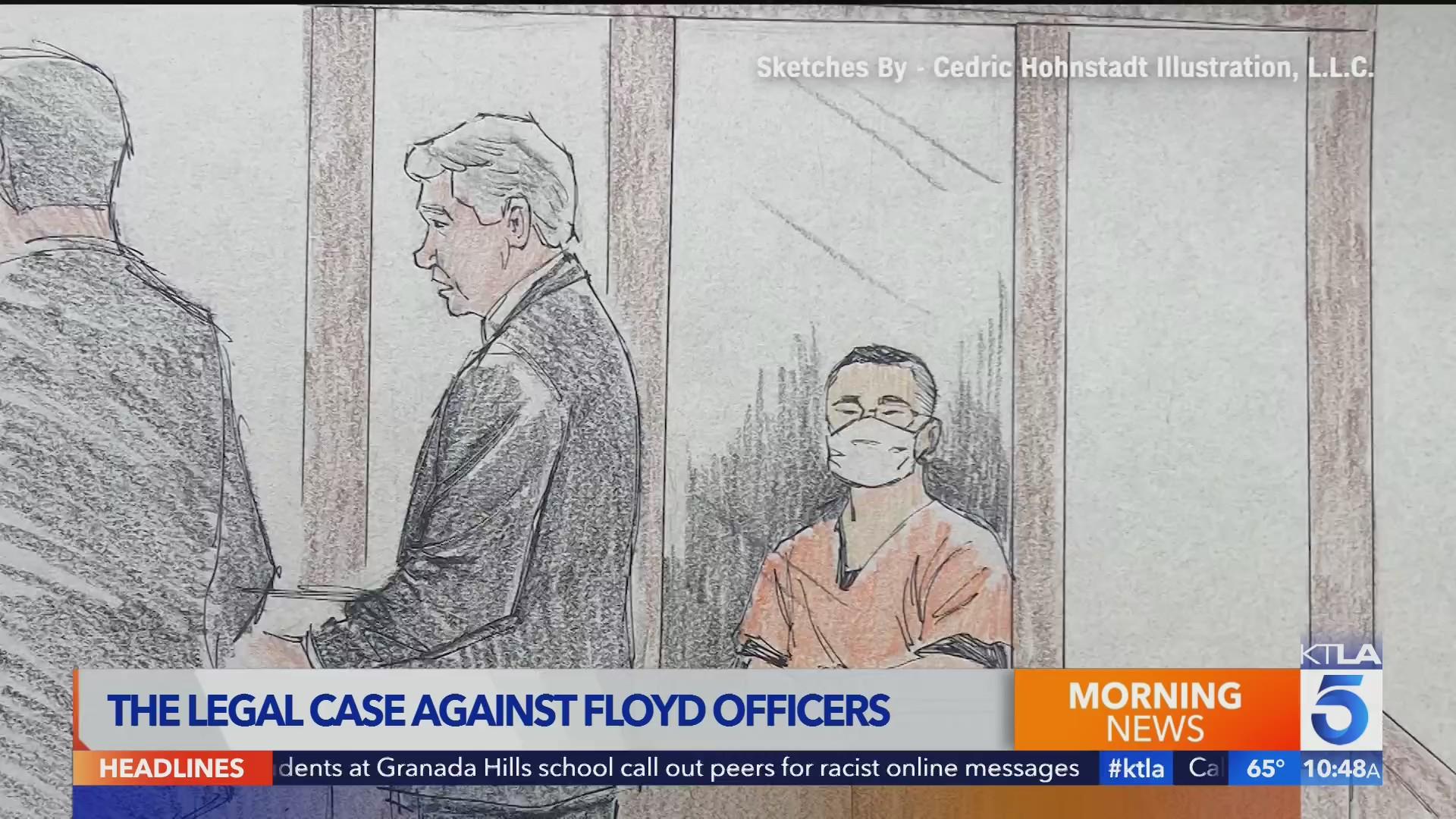 Alison Triessl on Floyd officers legal case
