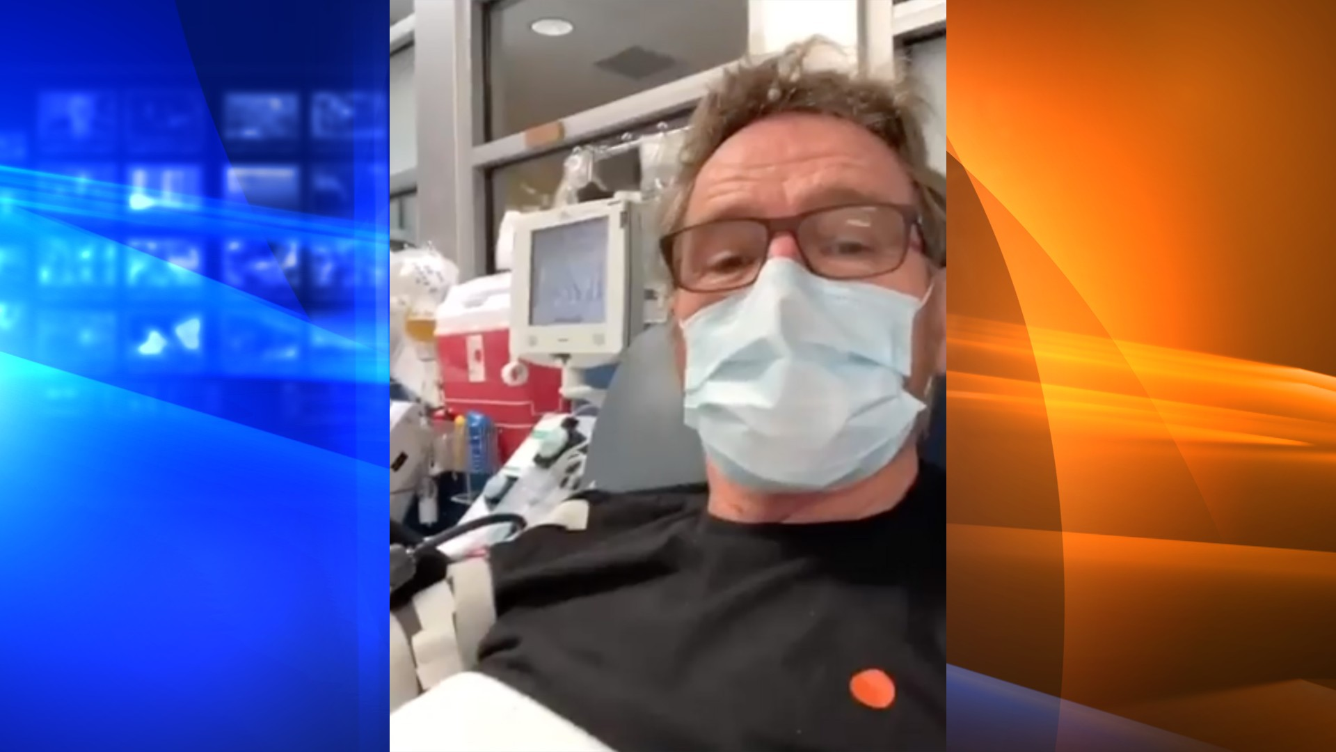 Actor Bryan Cranston revealed on Instagram that he was donating plasma after testing positive for COVID-19. (Bryan Cranston/Instagram)