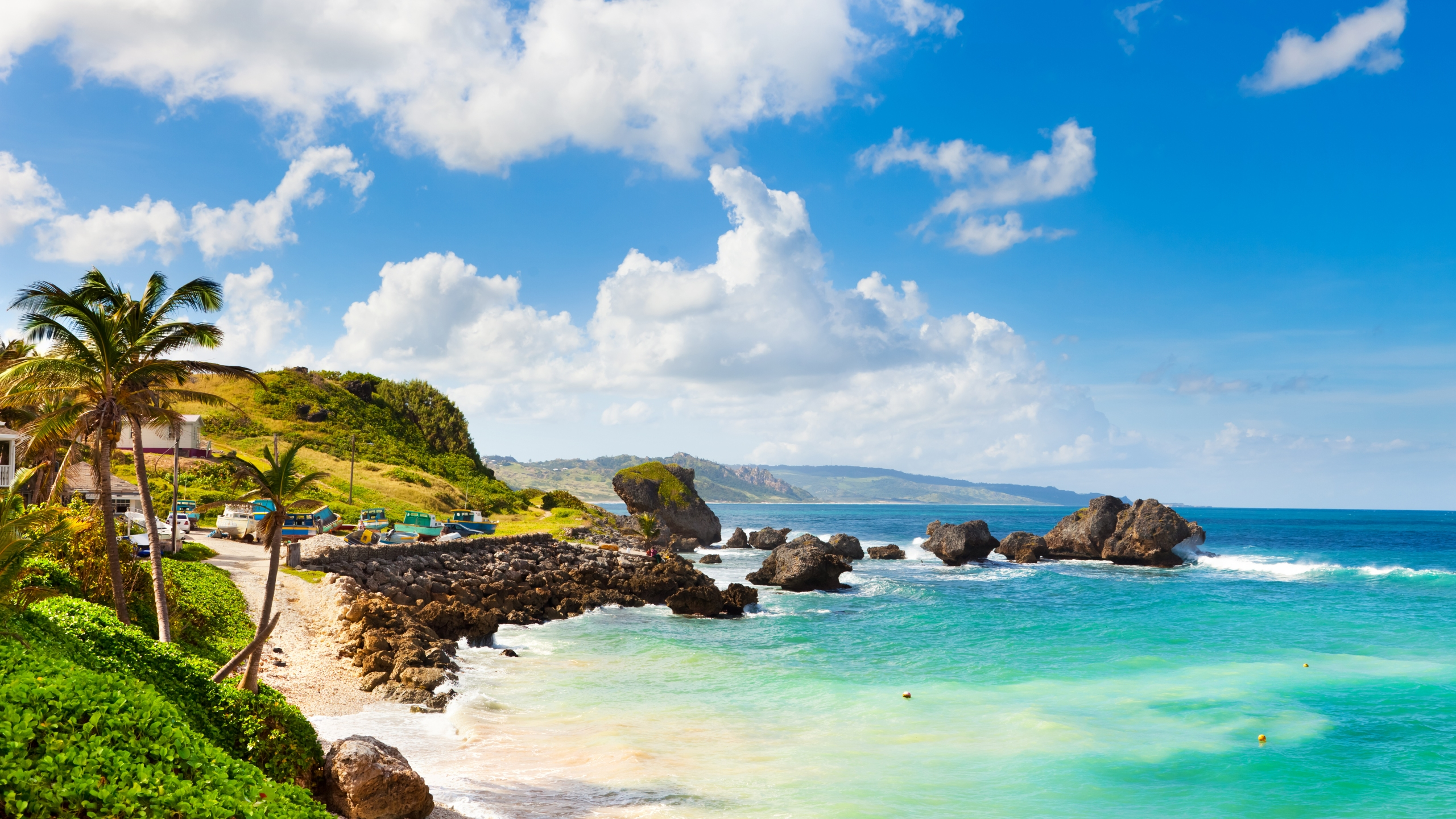 Bathsheba, on the east coast of Barbados, is seen in an undated file photo. (Getty Images)