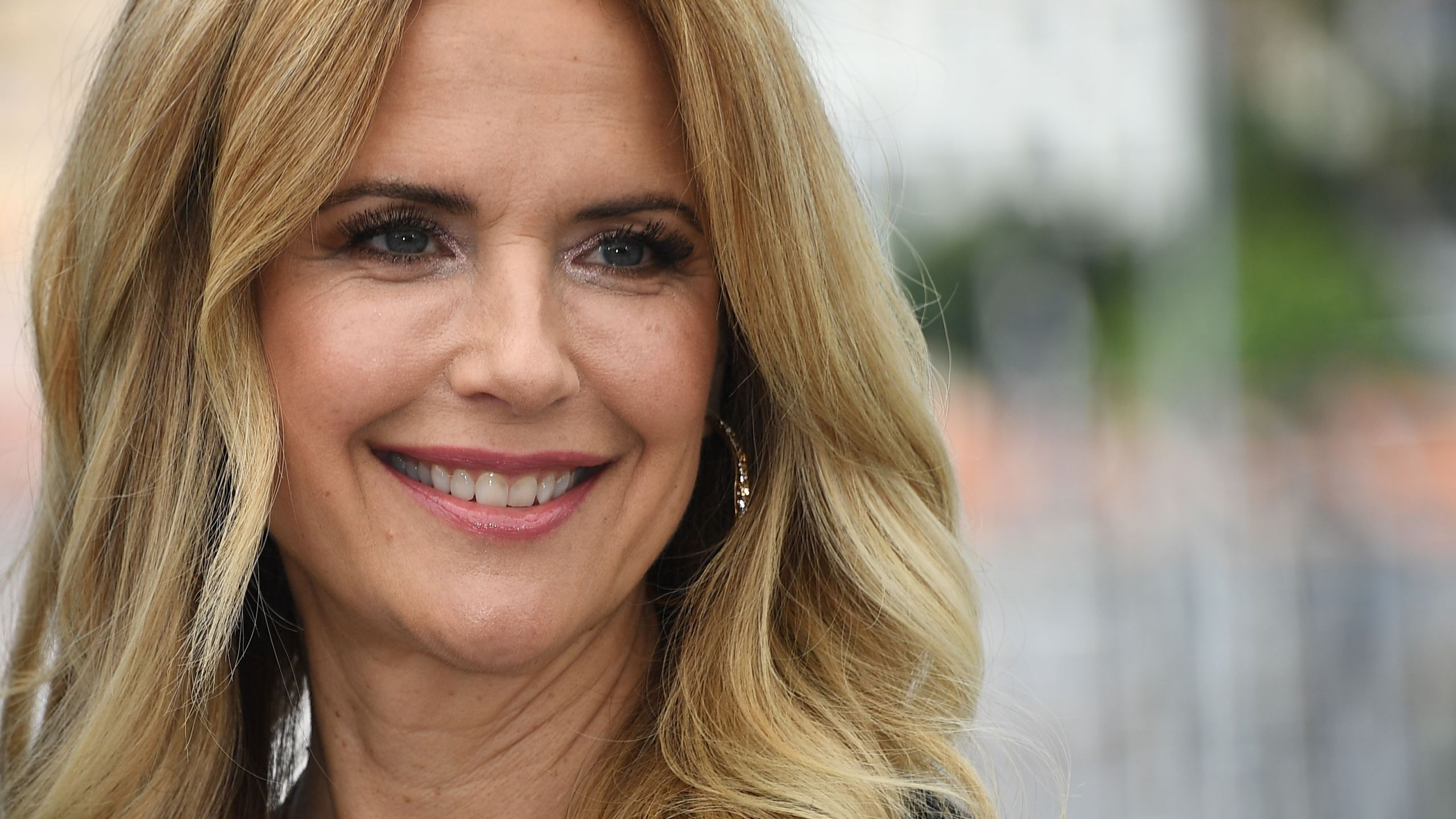 "Kelly Preston is seen on May 15, 2018 during a photocall for the film ""Gotti"" at the 71st edition of the Cannes Film Festival in Cannes, southern France. (ANNE-CHRISTINE POUJOULAT/AFP via Getty Images)"