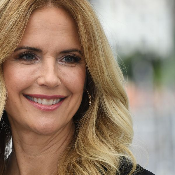 """Kelly Preston is seen on May 15, 2018 during a photocall for the film """"Gotti"""" at the 71st edition of the Cannes Film Festival in Cannes, southern France. (ANNE-CHRISTINE POUJOULAT/AFP via Getty Images)"""