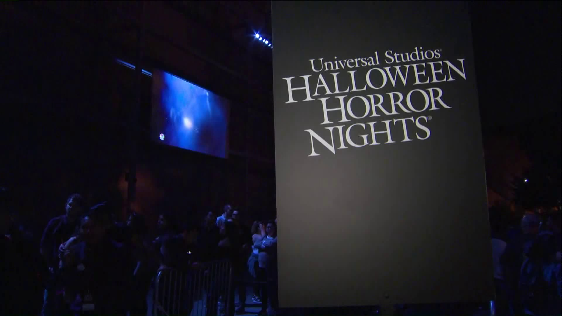 A Halloween Horror Nights is seen in a file photo from 2018. (KTLA)