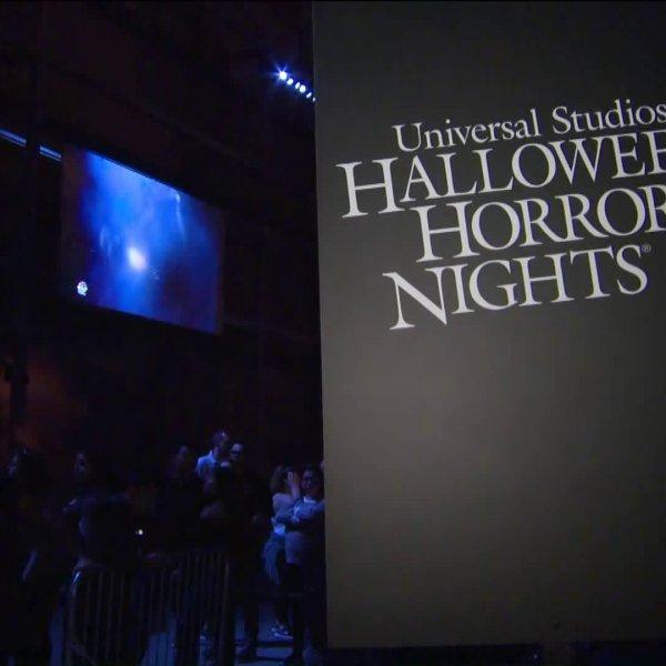 A Halloween Horror Nights is seen in a file photo from 2018. (KTLA)