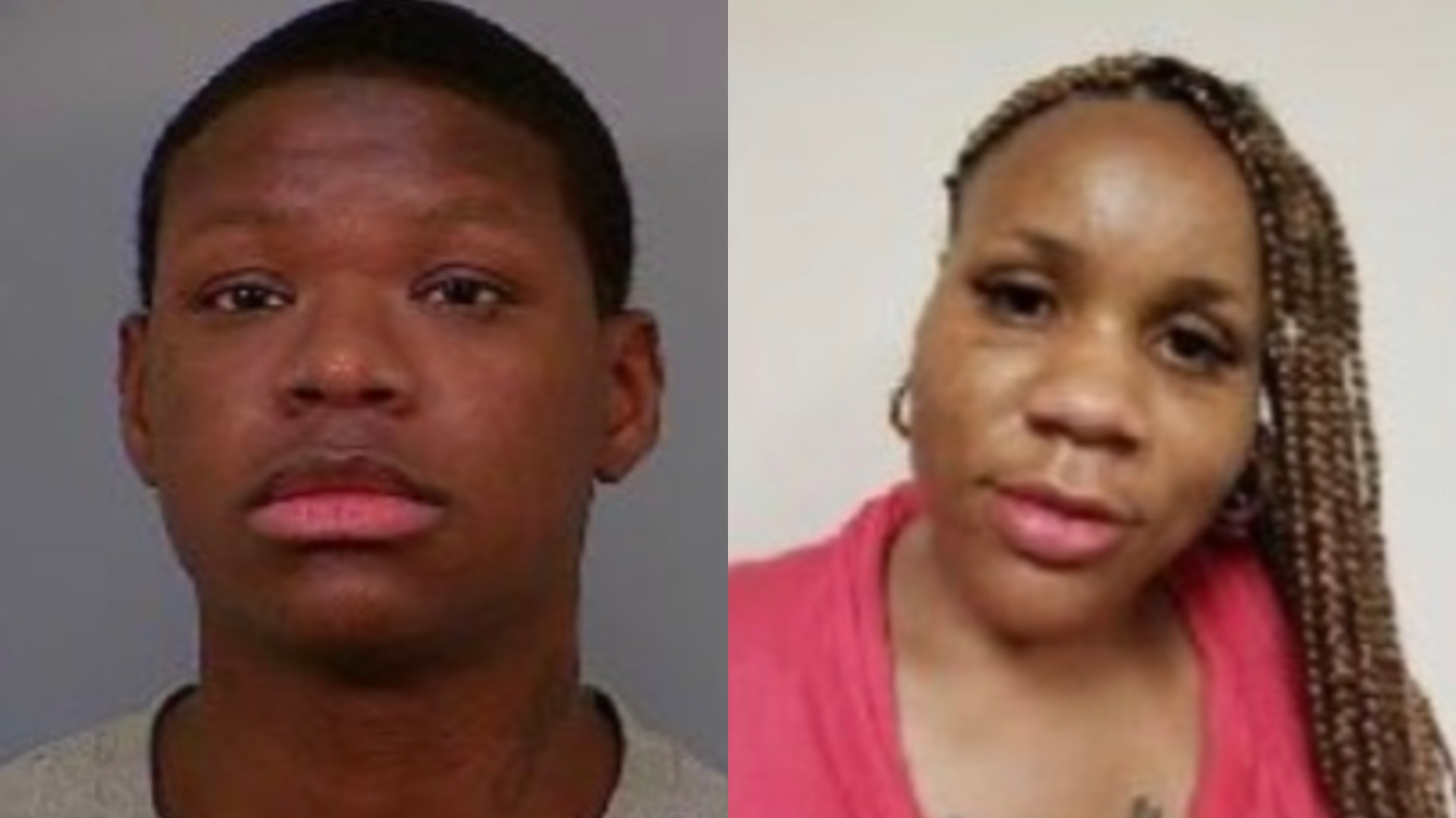 Damaris Wade, left, and Tamika White, right, are seen in photos released by the Los Angeles County Sheriff's Department.