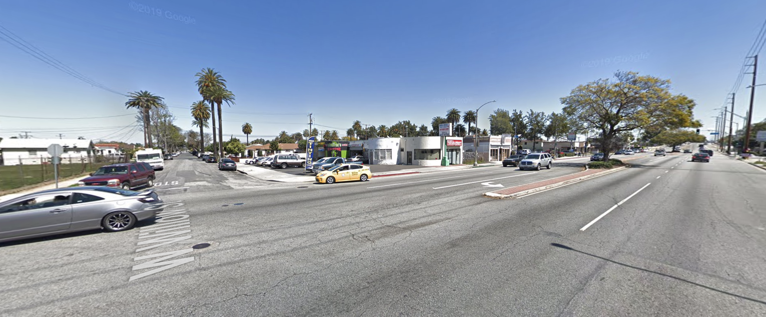 The area of Willow Street and Delta Avenue is seen in an undated photo from Google Maps street view.