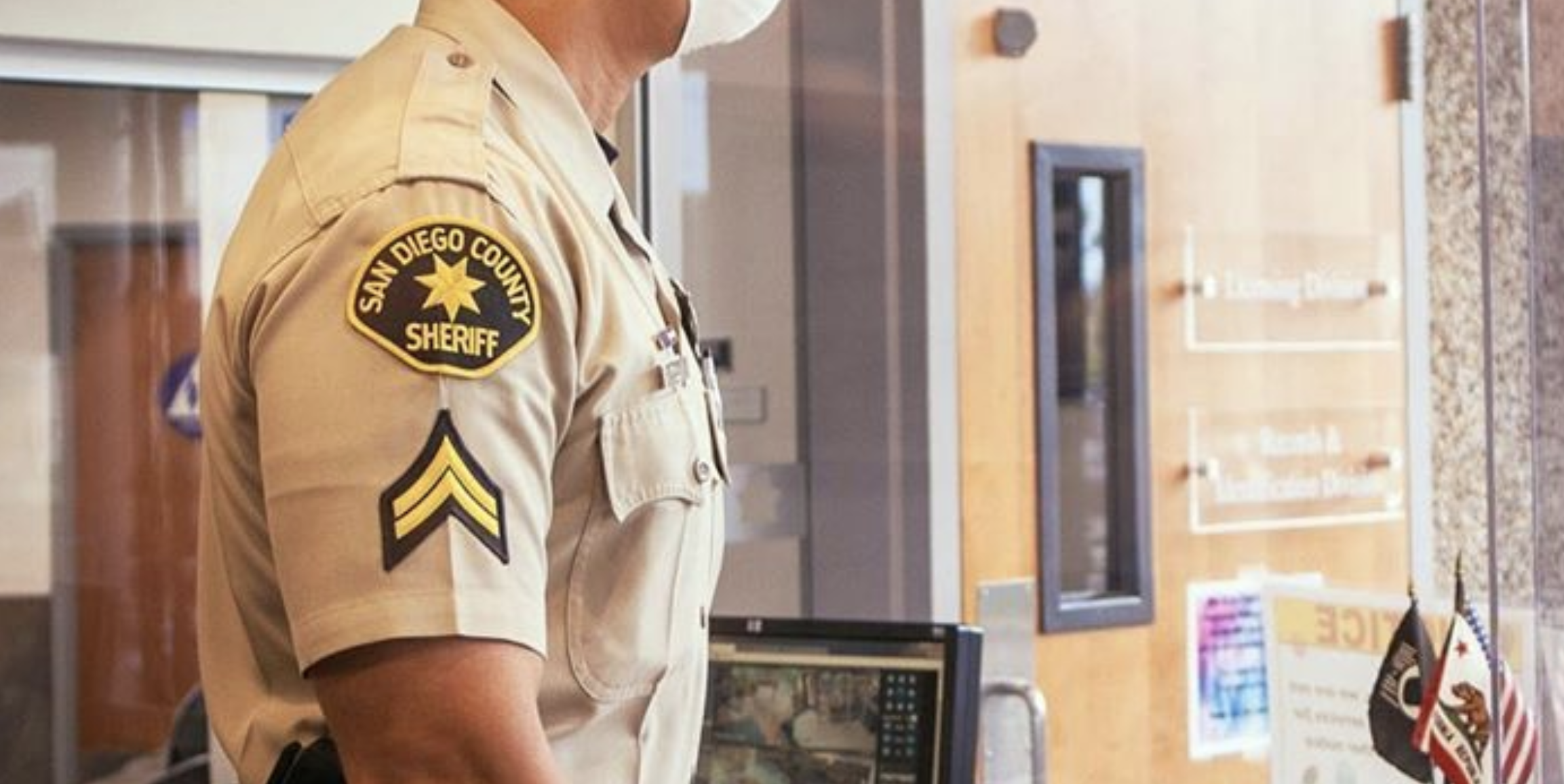 The San Diego County Sheriff's Department deputy uniform is seen in an undated file photo shared by the agency.