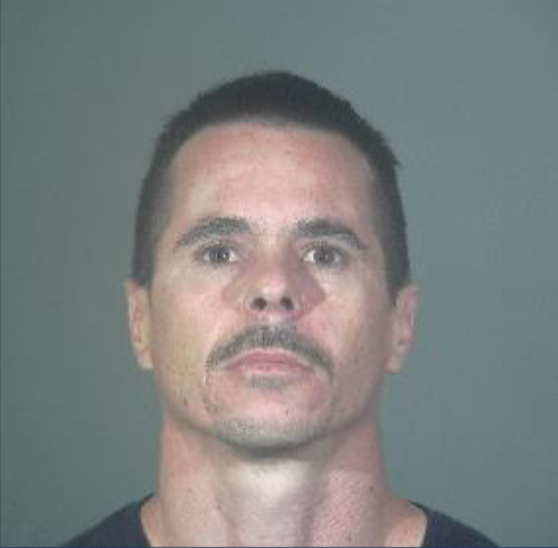 Dennis Aaron Wyman is seen in an undated booking photo released July 13, 2020, by the Torrance Police Department.