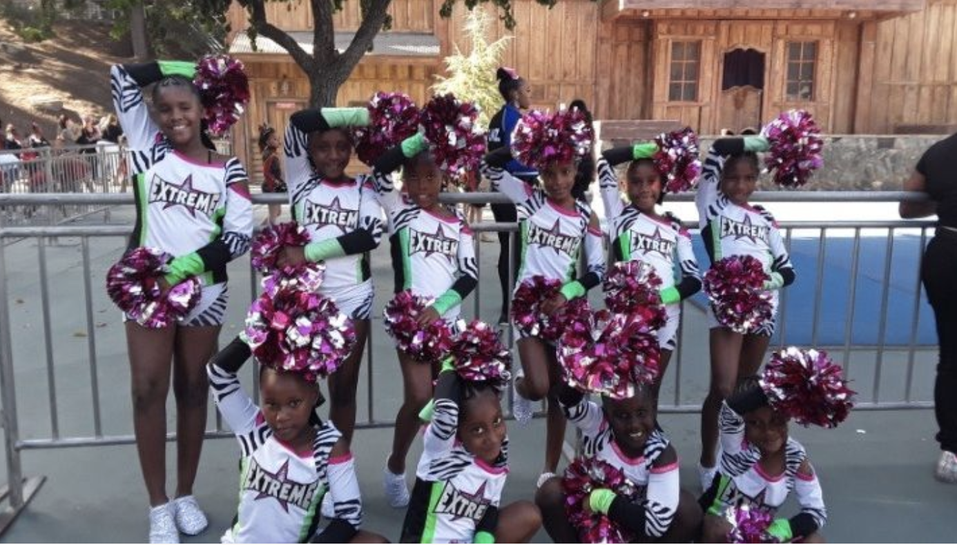 The LA Cheer Extreme CoverGirls is seen in an undated photo. (GoFundMe)