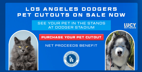 The pet cutout promotion is seen in a screenshot from an email.