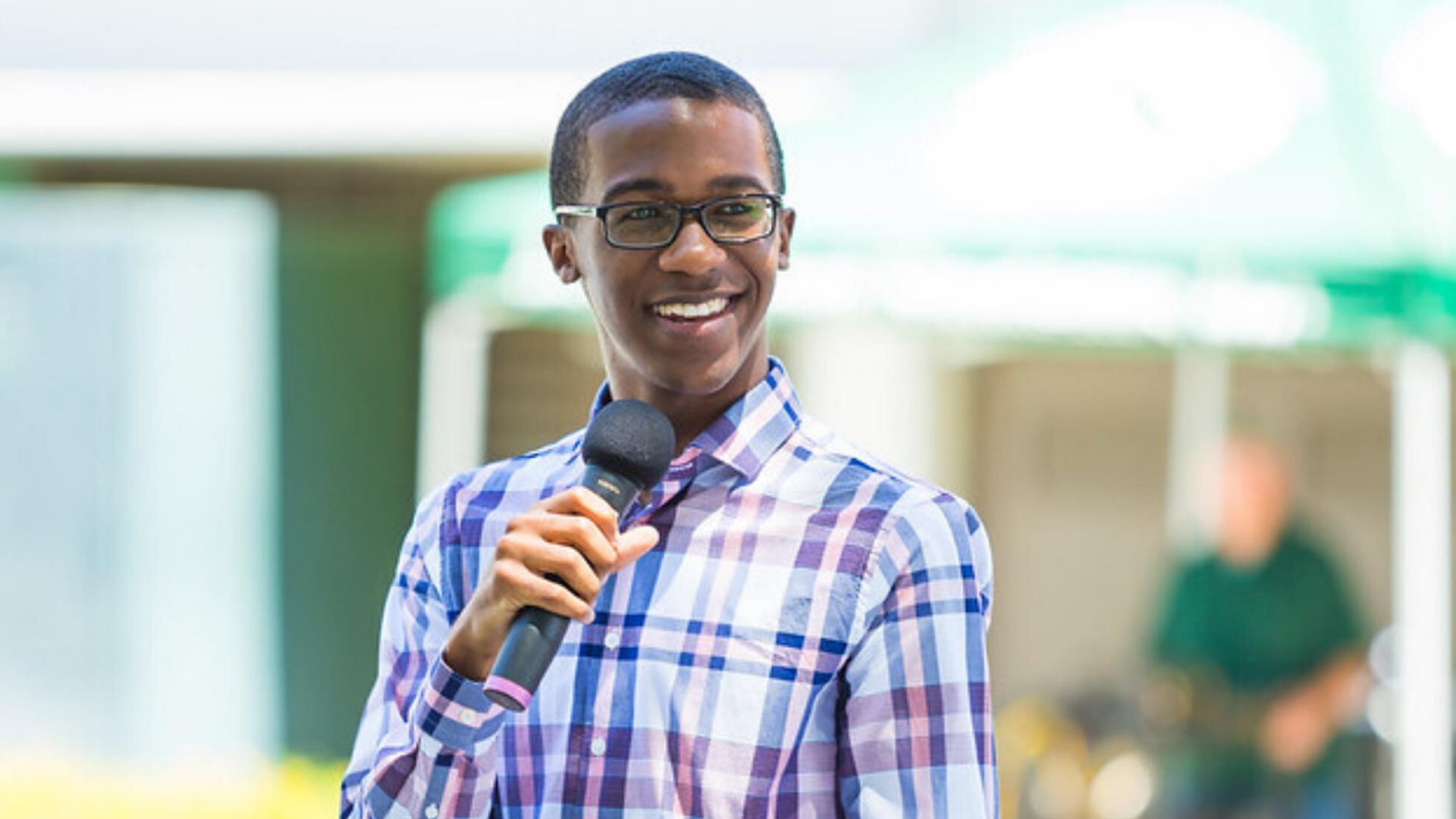 Cal Poly Pomona Associated Students Incorporated shared this photo of Uriah Sanders in a Facebook post on July 17, 2020.