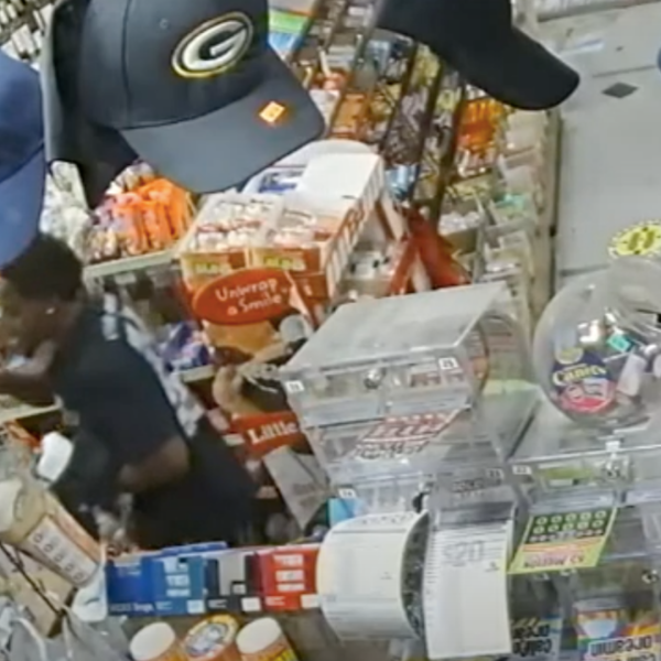 The Long Beach Police Department released surveillance video on July 25, 2020 showing a man they identified as a thief who killed a liquor store clerk in a hit-and-run crash.
