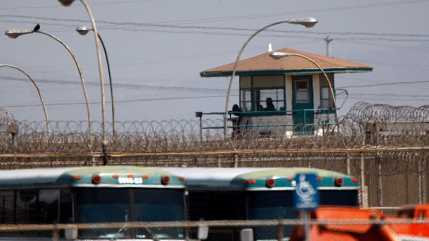 The decision to transfer hundreds of inmates from the California Institution for Men in Chino, shown, during a COVID-19 outbreak at the facility has been blamed for helping spread the virus to other prisons.(Allen J. Schaben / Los Angeles Times)