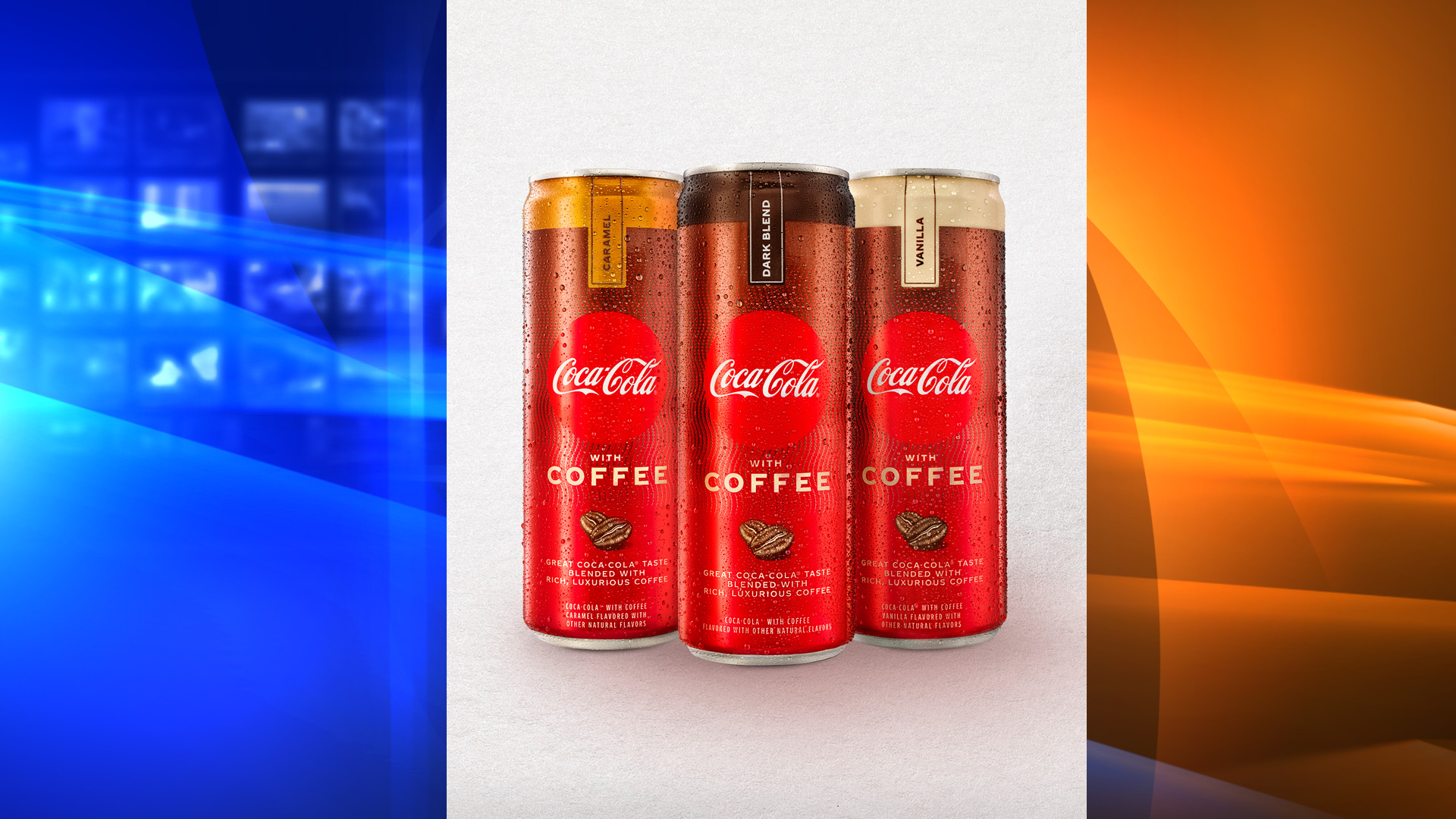 Coke with coffee will debut in US stores in January. (Coca-Cola)