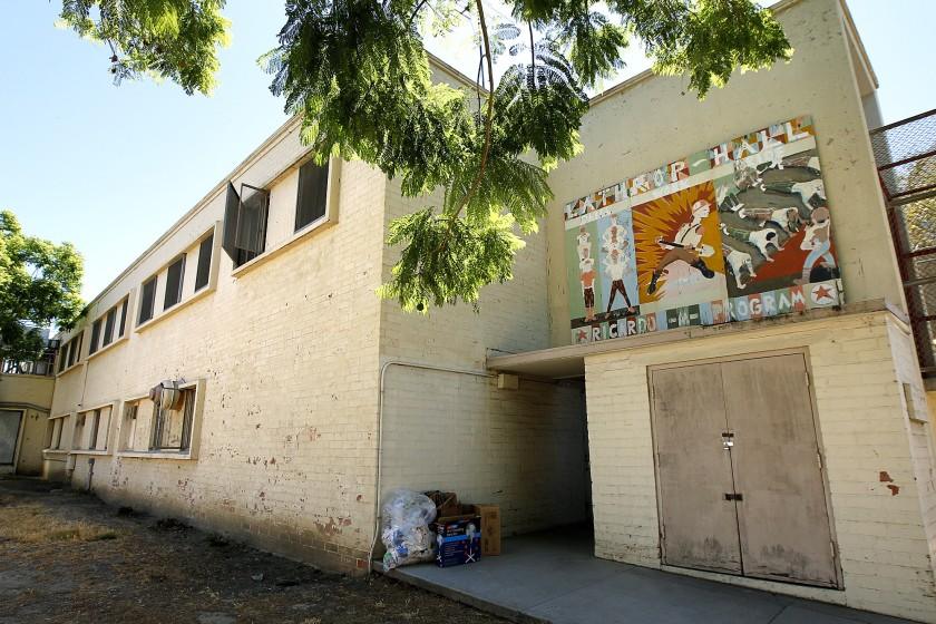 An old building at Central Juvenile Hall in Los Angeles.(Christina House / Christina House)