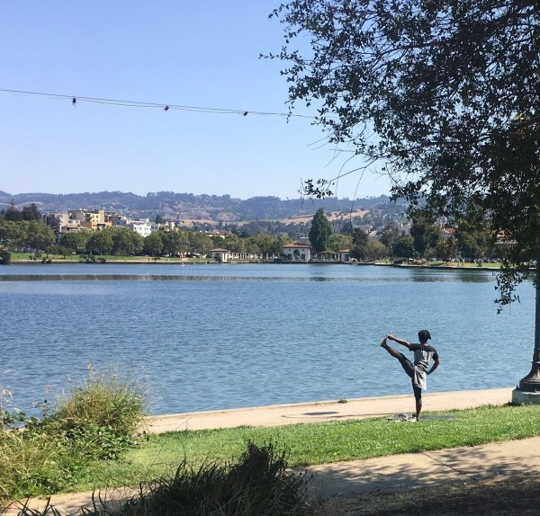 Oakland's Lake Merritt is seen in an undated photo. (Maura Dolan / Los Angeles Times)