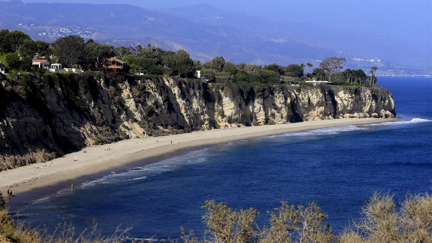 Point Dume State Reserve is seen in an undated photo. (Allen J. Schaben / Los Angeles Times)