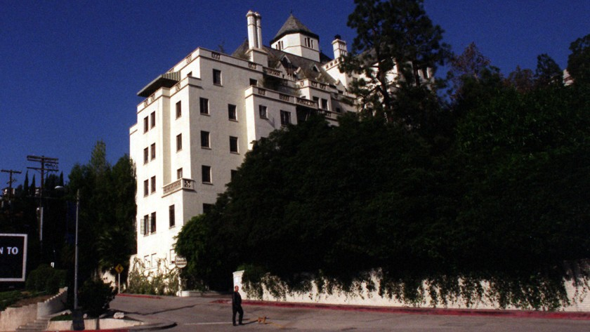 The Chateau Marmont hotel in West Hollywood is seen in this undated photo. (Genaro Molina / Los Angeles Times)