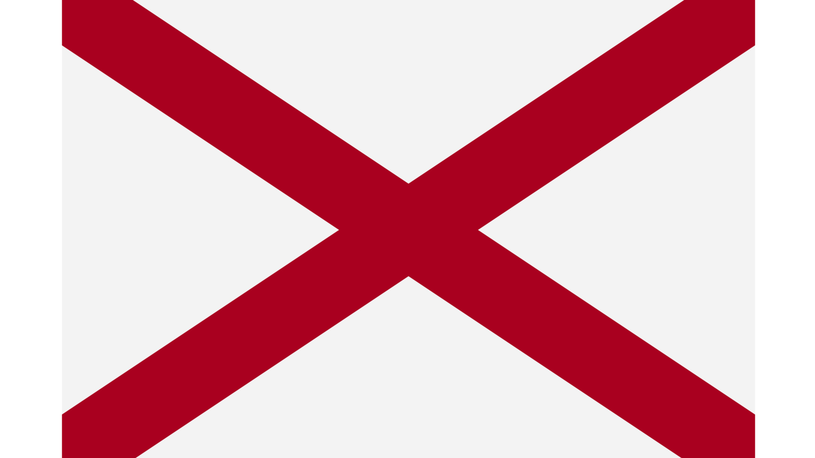 """According to the 1915 Alabama Official and Statistical Register, the flag """"was intended by the [state] Legislature to preserve in permanent form some of the more distinctive features of the Confederate battleflag, particularly the St. Andrew's cross."""" (Shutterstock via CNN Wire)"""