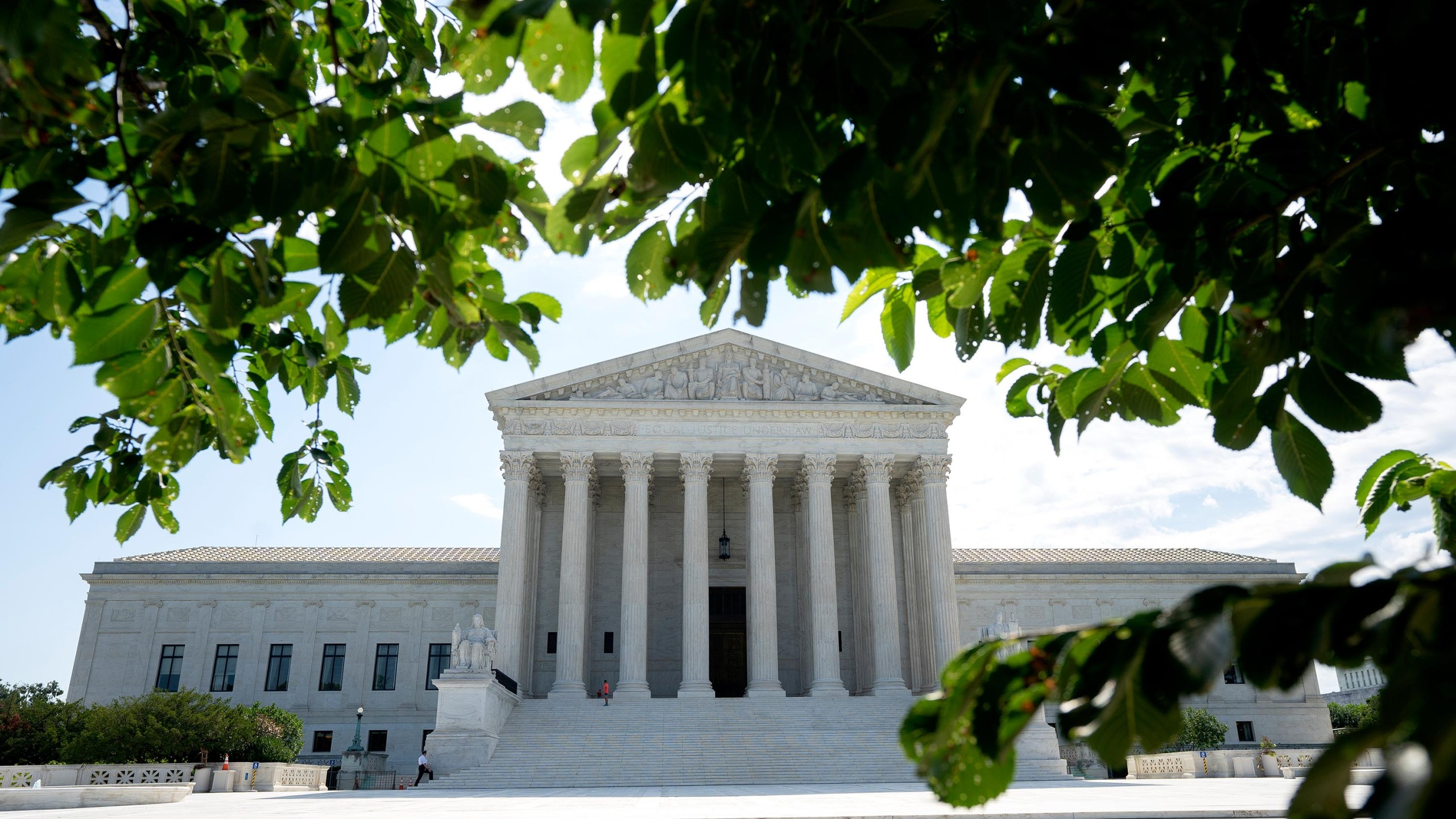 A general view of the U.S. Supreme Court on June 30, 2020, in Washington, DC. (Stefani Reynolds/Getty Images)