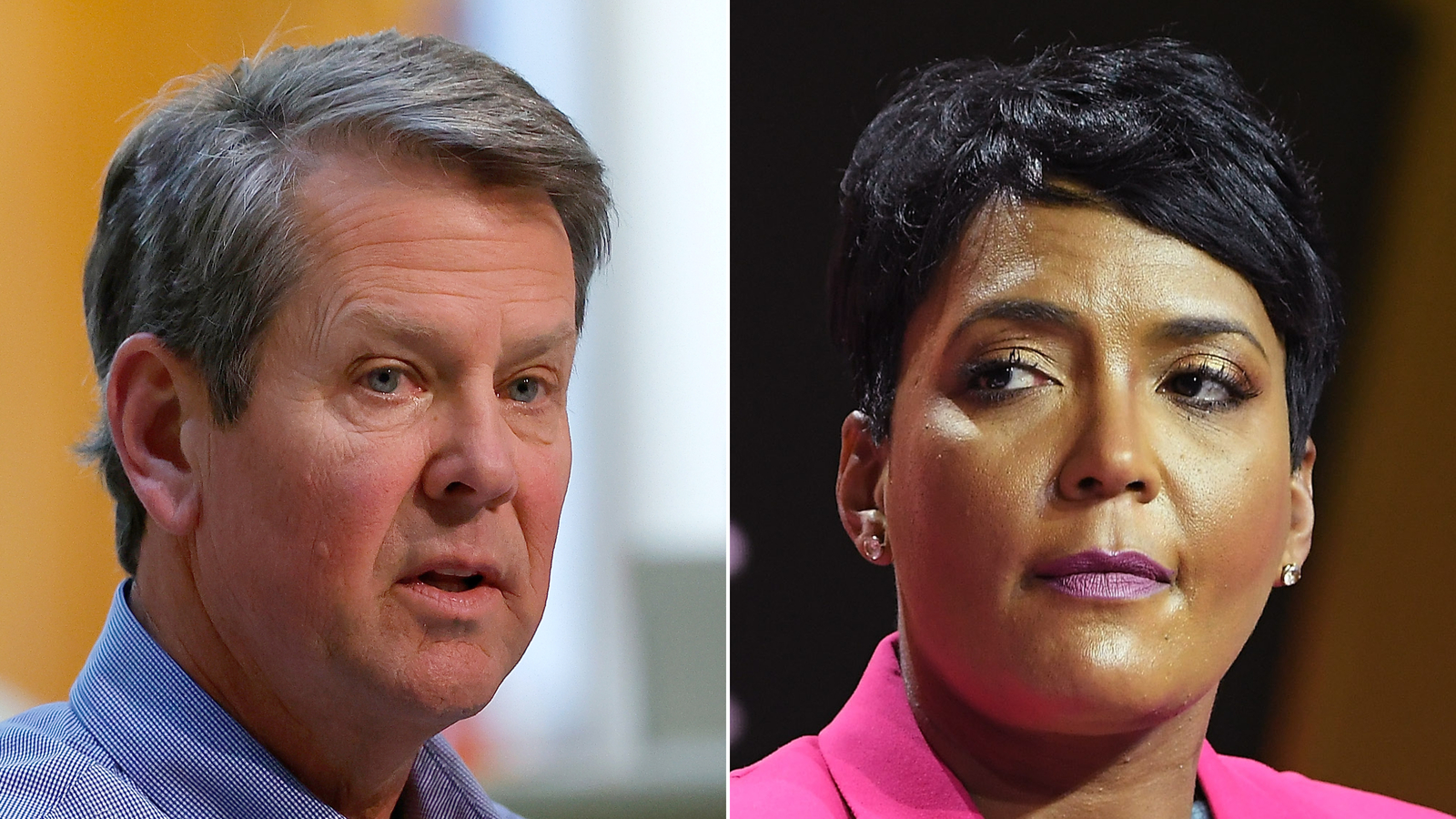 Mayors across Georgia stood behind Atlanta Mayor Keisha Lance Bottoms on July 16, 2020 after the state's governor filed a lawsuit against her over the city's mask mandate. (Getty Images via CNN)