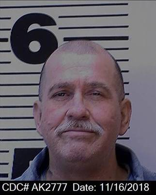 David Reed appears in a photo dated Nov. 16, 2018. (California Department of Corrections and Rehabilitation)