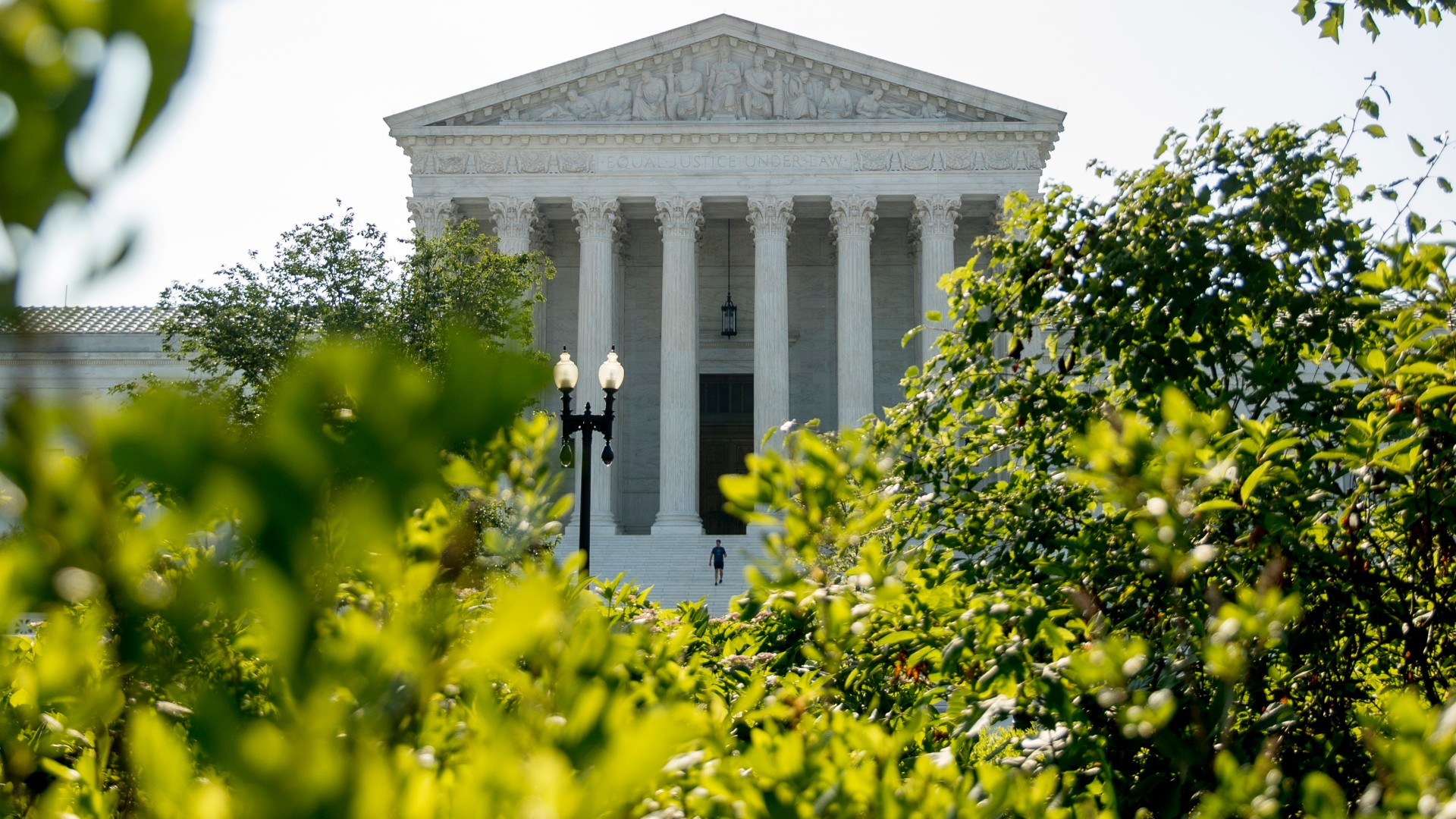The Supreme Court, Wednesday, July 8, 2020, in Washington. (AP Photo/Andrew Harnik)