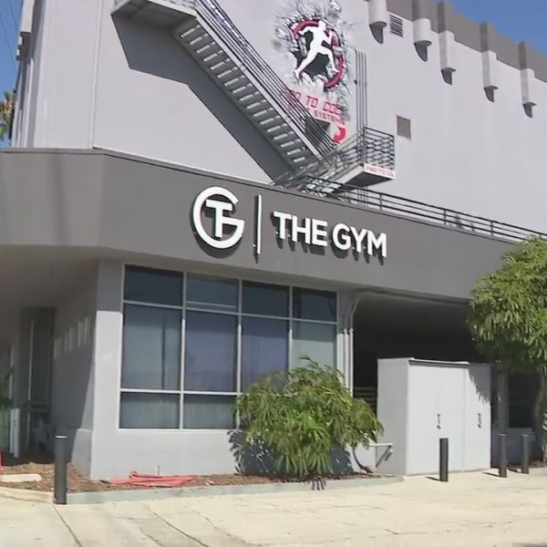 The Gym in Pacific Beach, which stayed open despite an order to close and was later tied to a coronavirus outbreak, according to county health officials. (KSWB)