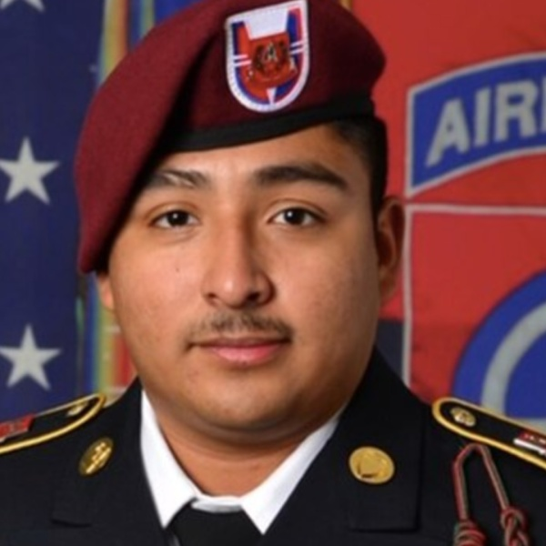 Spc. Roman-Martinez, 21, is seen in a photo shared by his family.