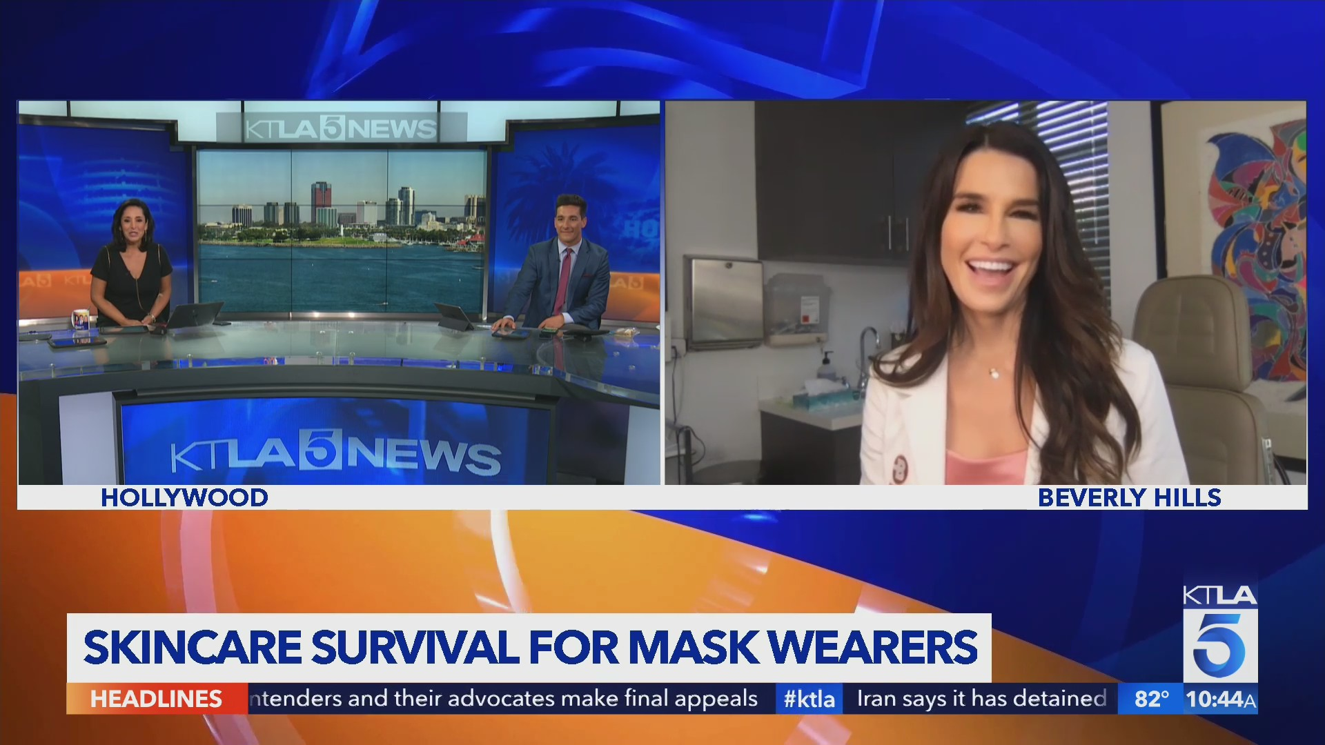 Dr. Anna Guanche on skincare when wearing face coverings