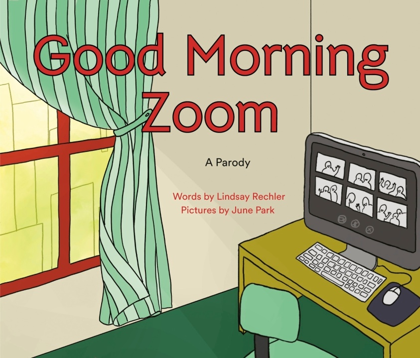 "This cover image released by Philomel shows ""Good Morning Zoom"" by Lindsay Rechler, available Oct. 6, 2020. (Philomel via AP)"