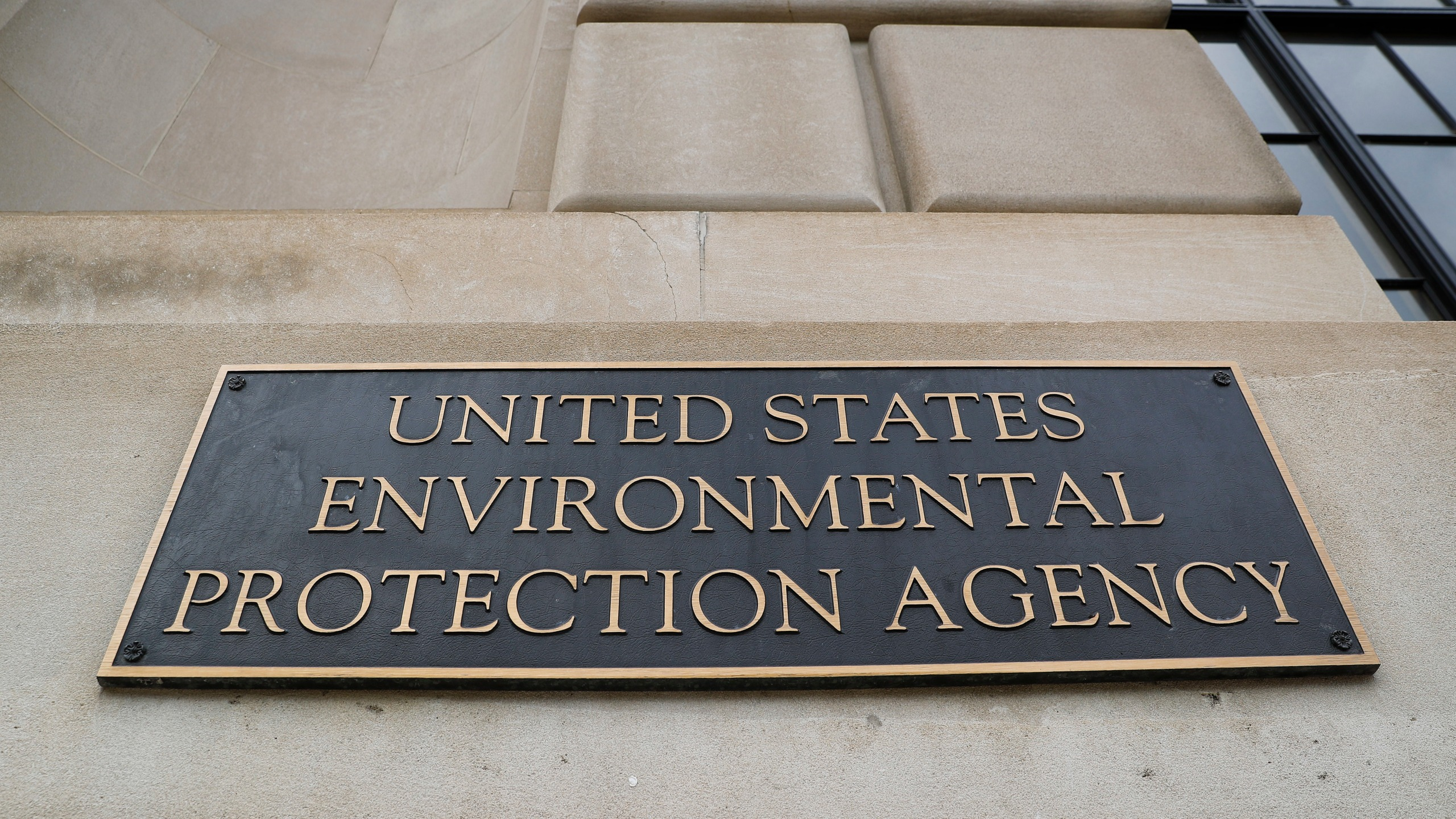 In this Sept. 21, 2017, file photo, the Environmental Protection Agency (EPA) Building is shown in Washington. (AP Photo/Pablo Martinez Monsivais)