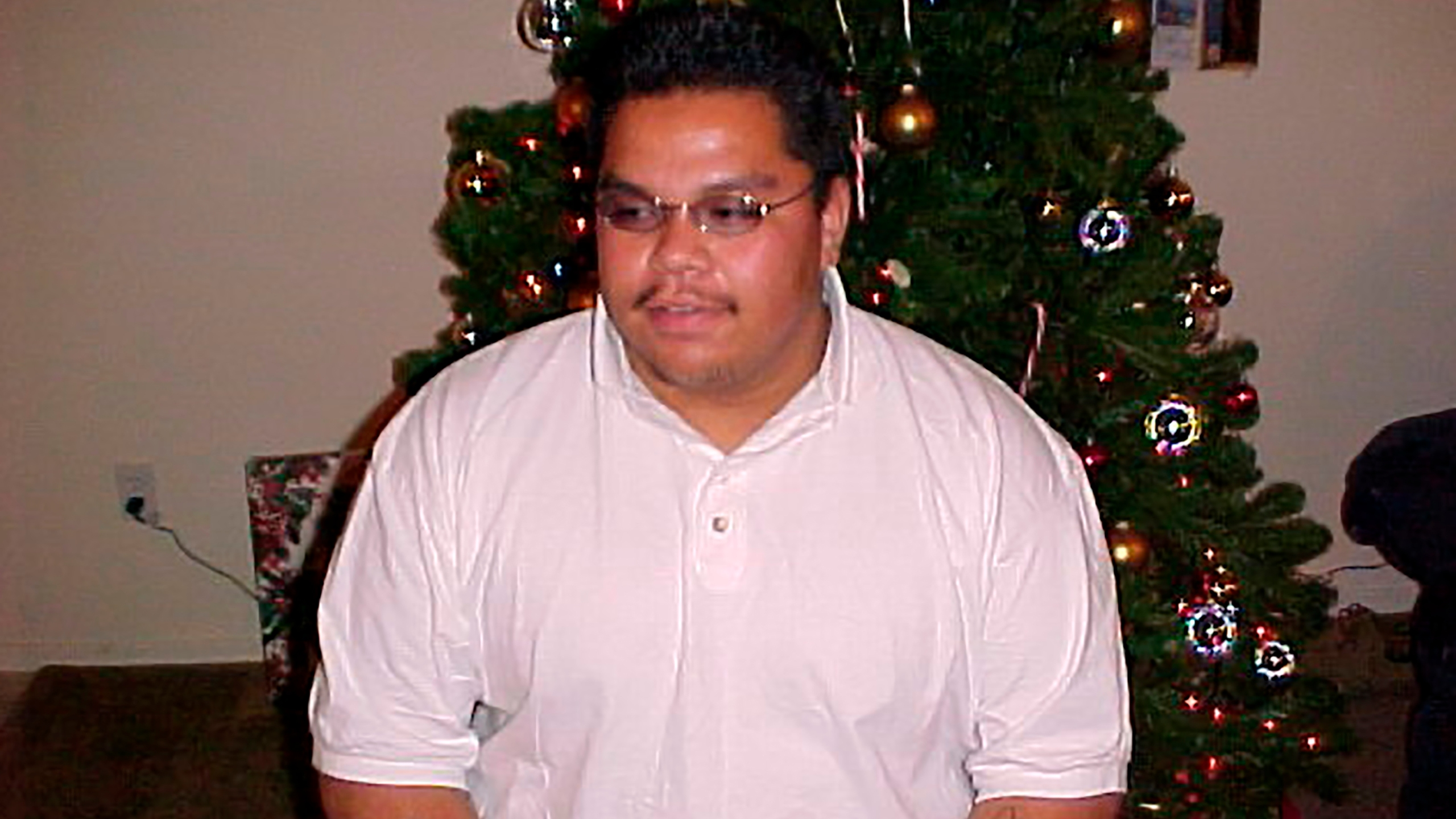 This undated family photo provided by Auska Mitchell shows Lezmond Mitchell, who is scheduled to be executed on Wednesday, Aug. 26, 2020, at the federal prison complex in Terre Haute, Ind., for the 2001 killing of Alyce Slim and her granddaughter. The Navajo government is pushing to spare his life on the basis cultural beliefs and sovereignty. Mitchell was the first Native American sentenced to death since the resumption of the federal death penalty in 1994 and the only Native American awaiting his punishment. (Courtesy Auska Mitchell via AP)