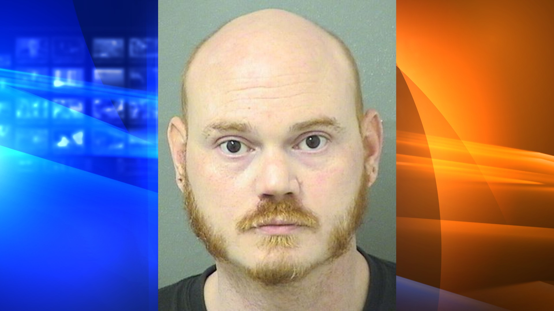 Gregory Haasze is seen in a booking photo released by the Palm Beach County Sheriff's Office.