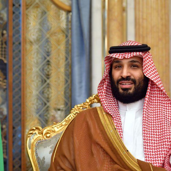 Saudi Arabia's Crown Prince Mohammed bin Salman attends a meeting with the U.S. secretary of state in Jeddah, Saudi Arabia, on Sept. 18, 2019. (MANDEL NGAN/AFP via Getty Images)