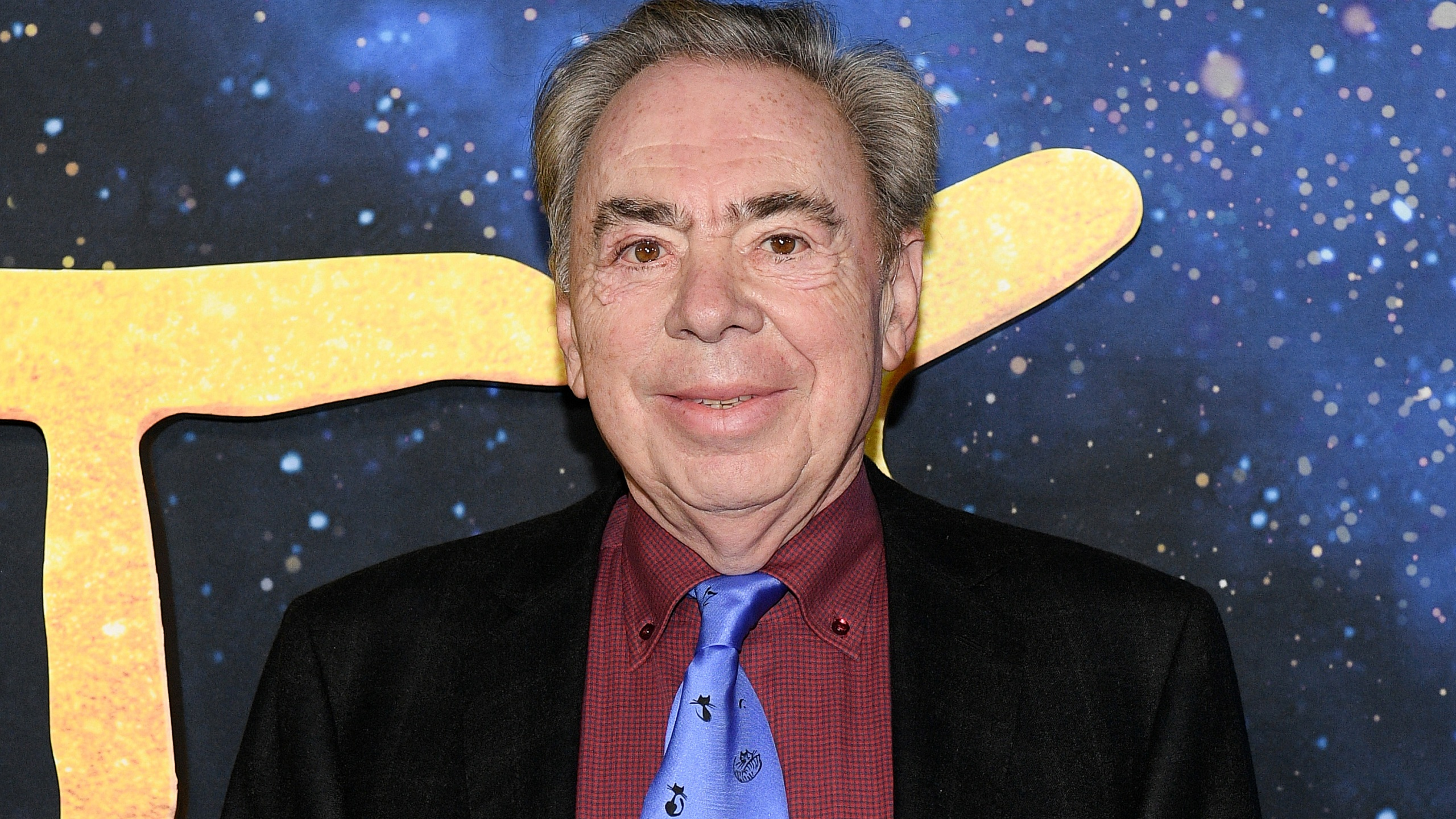 "Andrew Lloyd Webber attends the world premiere of ""Cats"" at Alice Tully Hall, Lincoln Center on December 16, 2019 in New York City. (Dia Dipasupil/Getty Images)"
