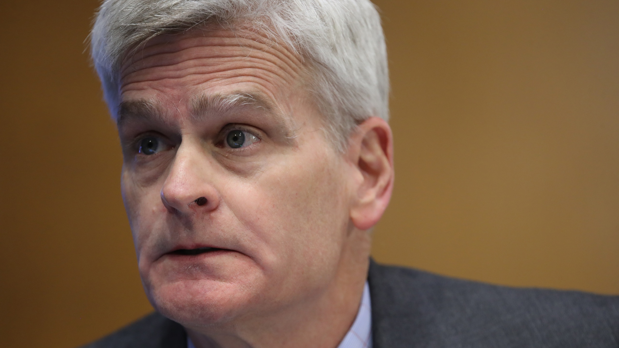 Sen. Bill Cassidy (R-LA) speaks during a Senate Health, Education, Labor and Pensions Committee hearing on Capitol Hill on May 12, 2020. (Win McNamee/Getty Images)
