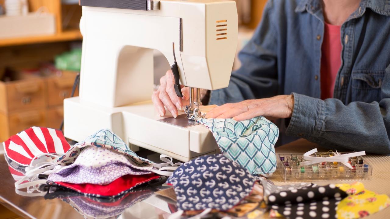 Surging demand has sewing machine sellers scrambling
