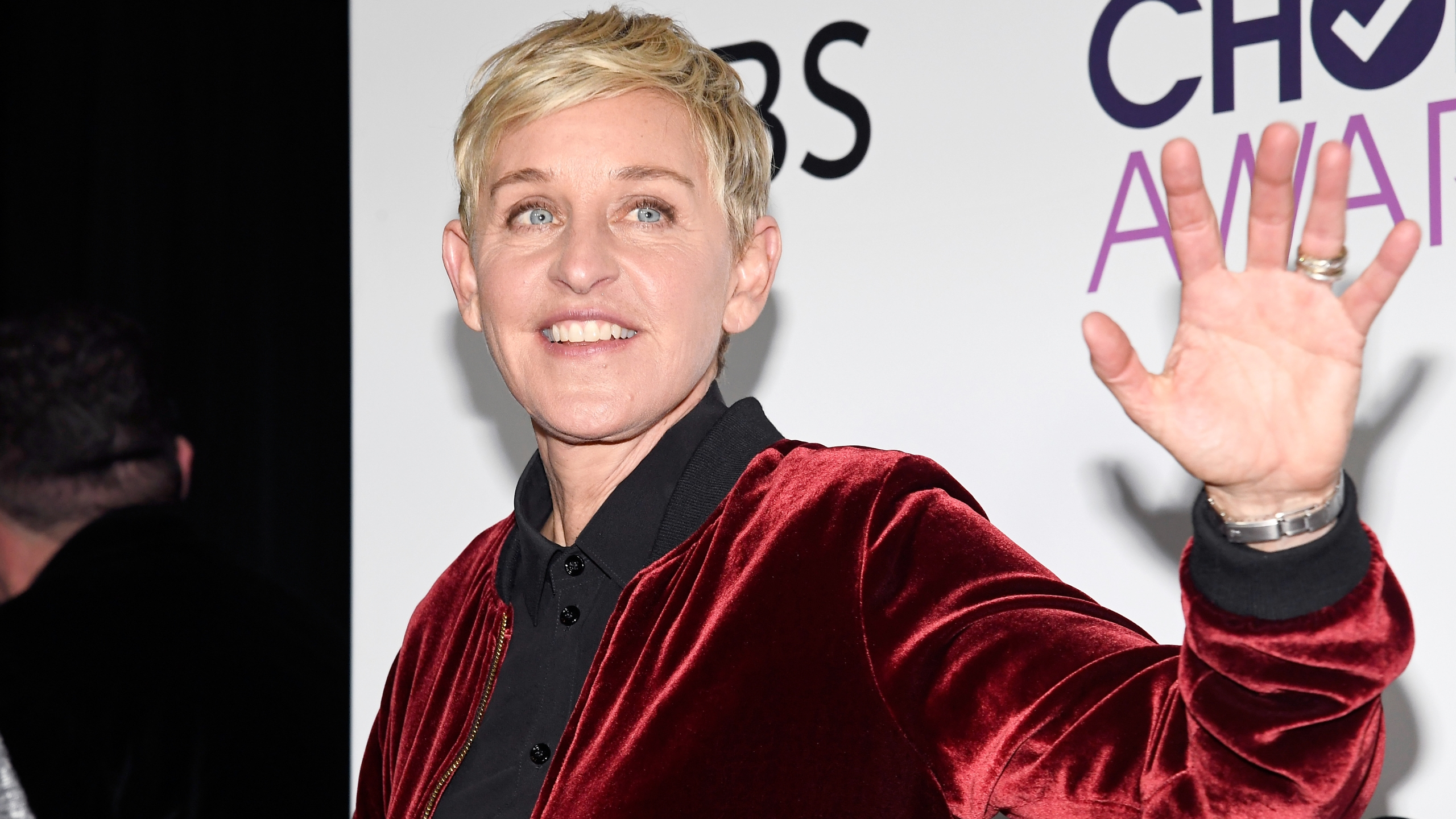 Ellen Degeneres poses in the press room during the People's Choice Awards on January 18, 2017, in Los Angeles. (Kevork Djansezian/Getty Images)