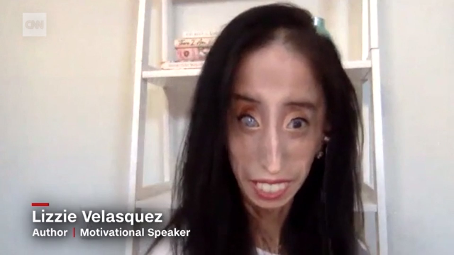 "Lizzie Velasquez, a motivational speaker, went viral on TikTok earlier this month after she found users on the app were sharing her photo as part of TikTok's ""New Teacher Challenge."" (CNN)"