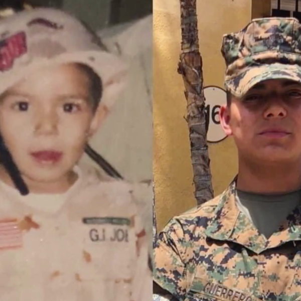 Lance Cpl. Marco Barranco is seen in photos provided by family members