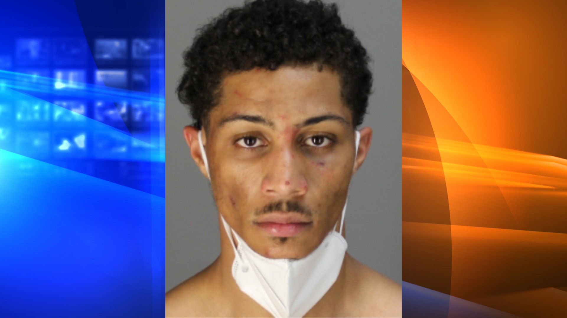 Chris Young is seen in a booking photo released by the Napa County Sheriff's Office.