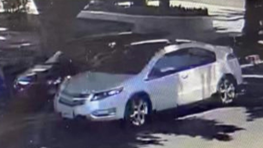 This photo, released by LAPD, shows the suspect's vehicle, according to police.
