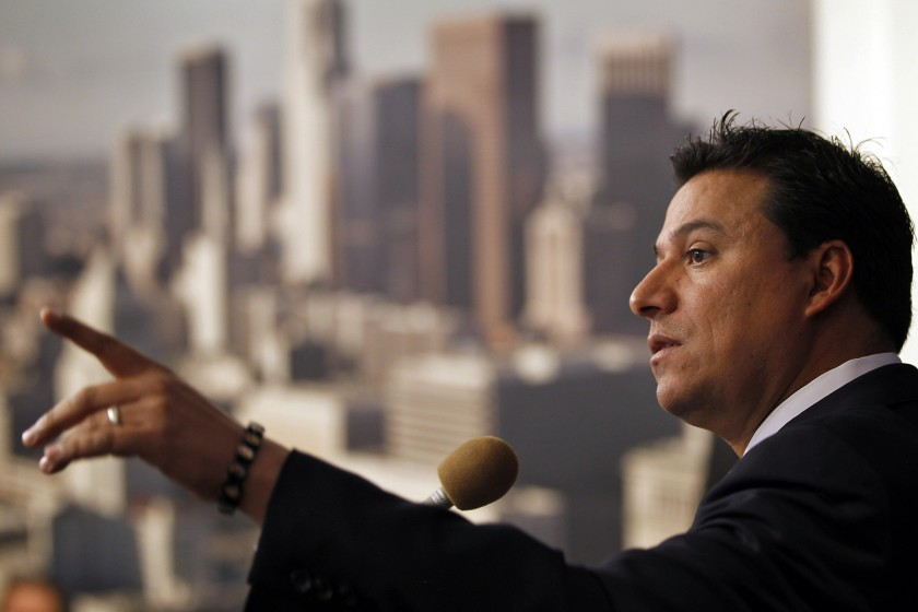 Los Angeles City Councilman Jose Huizar, pictured in 2011. (Al Seib / Los Angeles Times)