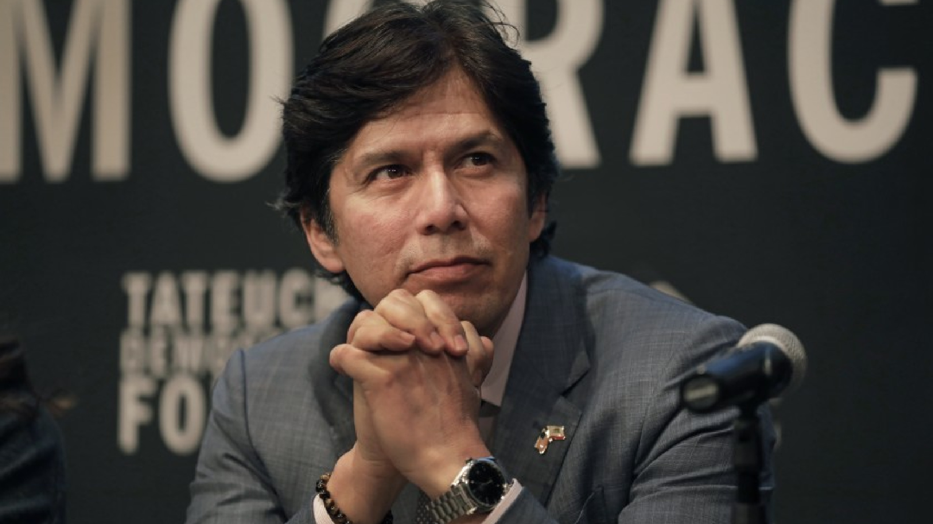 Former State Sen. Kevin de León won a March race to represent the district.(Carolyn Cole / Los Angeles Times)